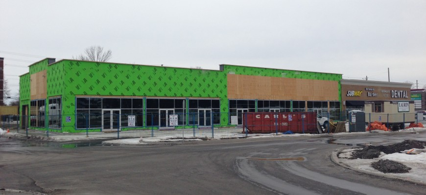 Retail Building Expansion